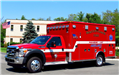 Medic One - 2012 Ford F450 - 4 by 4 Class 1, Type III Emergency Rescue Vehicle