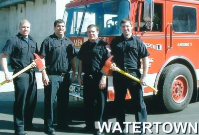 Mass Fire Academy Graduation - April 2005