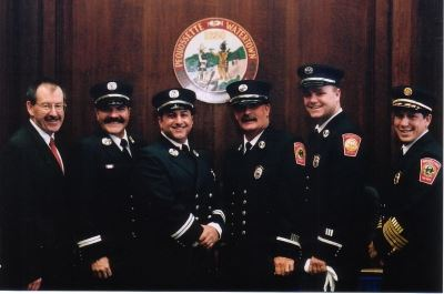 Officer Promotions April 2004